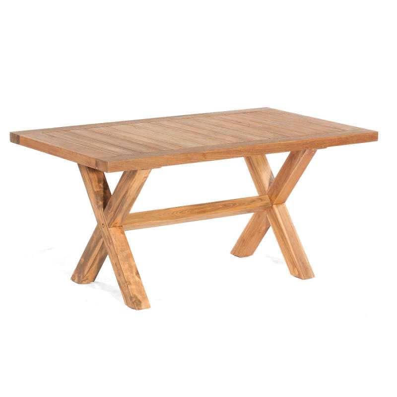 Sonnenpartner Gartentisch Stanford 160x90 cm Teakholz Old Teak Tisch Esstisch