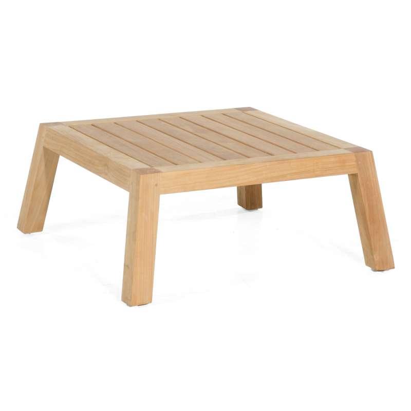 Sonnenpartner Loungetisch Clifton Teakholz natur 80x80 cm Lounge-Tisch