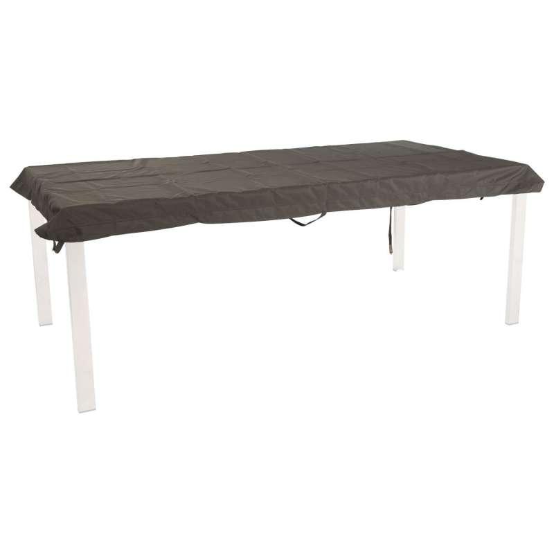 Stern Schutzhülle für Tisch 200x100 cm Polyester grau mit Binderbändern Klettverschluss