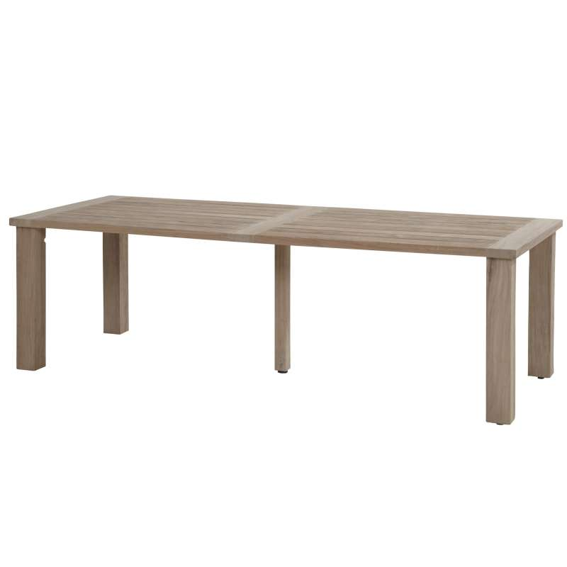 Aqua-Saar Dining Table big Amsterdam Teaktisch 240 x 95 cm Teakholz AS31698