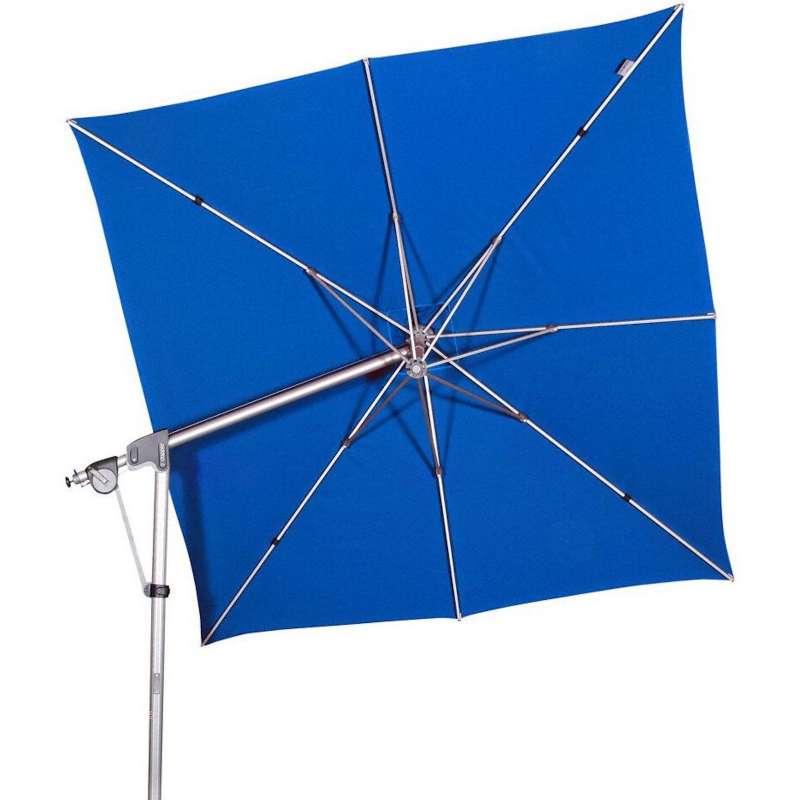 Doppler Protect Pendel 300 x 300 cm Sonnenschirm Aquamarin 821 Pendelschirm Ampelschirm