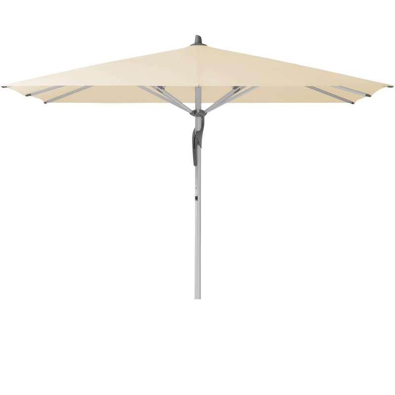 GLATZ Sonnenschirm FORTERO® easy quadratisch 350 x 350 cm Stoffklasse 2 Eggshell 150