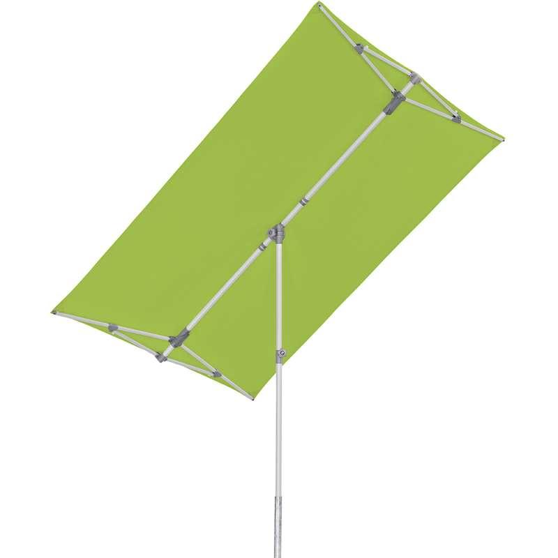GLATZ Sonnenschirm SUNCOMFORT® Flex Roof eckig 210x150cm Stoffklasse 1 Kiwi 027