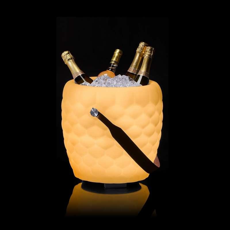 The Joouly Bowl Limited Bluetooth Lautsprecher Farbwechsel Lampe mit Getränkekühler