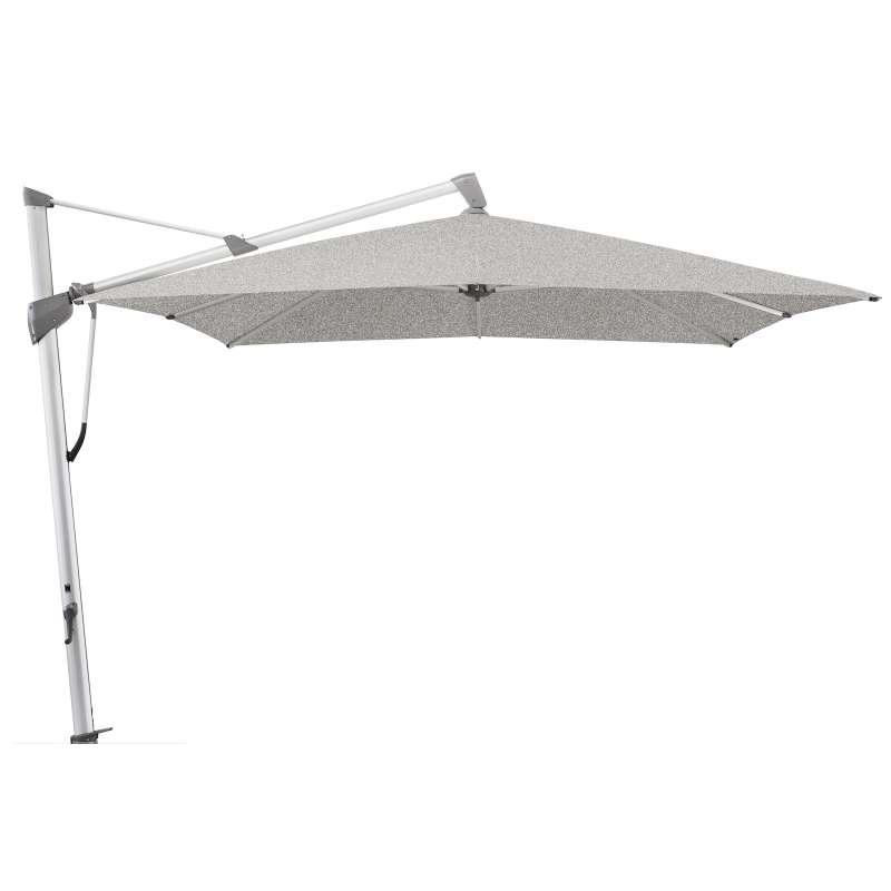 GLATZ Sonnenschirm SOMBRANO® S+ 300 x 300 cm Stoffklasse 5 Silver-Mélange 652