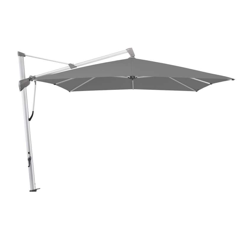 GLATZ Sonnenschirm SOMBRANO® S+ 400 x 300 cm Stoffklasse 4 Smoke 420