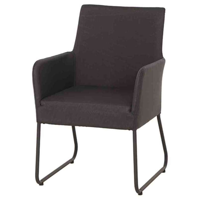 LIFE Blixum Diningsessel carbon Alu lava Loungesessel H36493