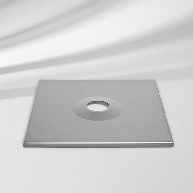 GLATZ Abdeckung passend zu Sockel M4 Aluabdeckung Schutzabdeckung 88 x 88 x 5 cm
