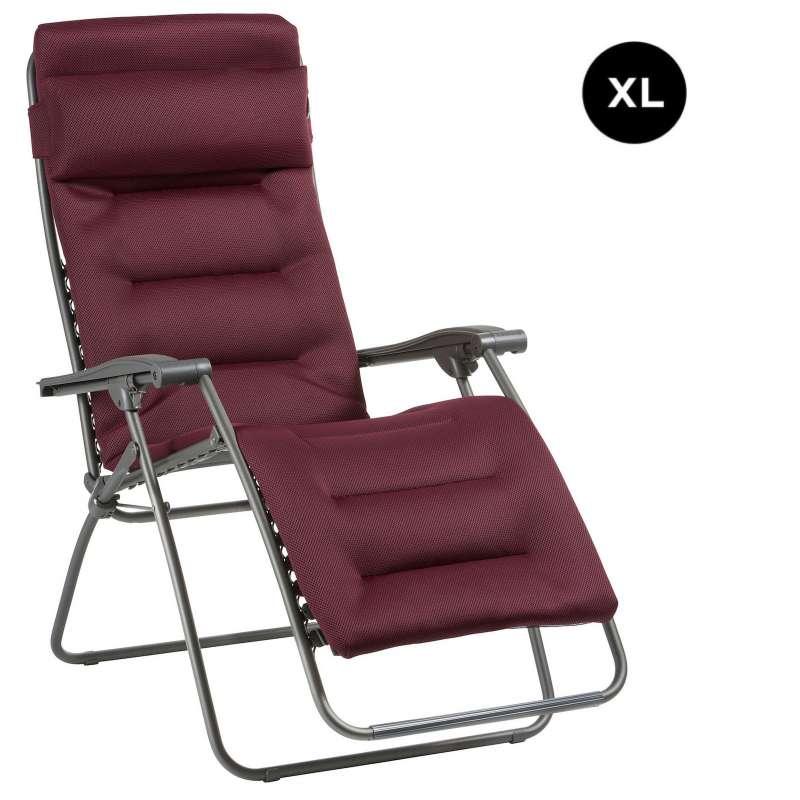 Lafuma RSX CLIP XL Air Comfort® Relaxliege Bordeaux Sonnenliege LFM2041.3186