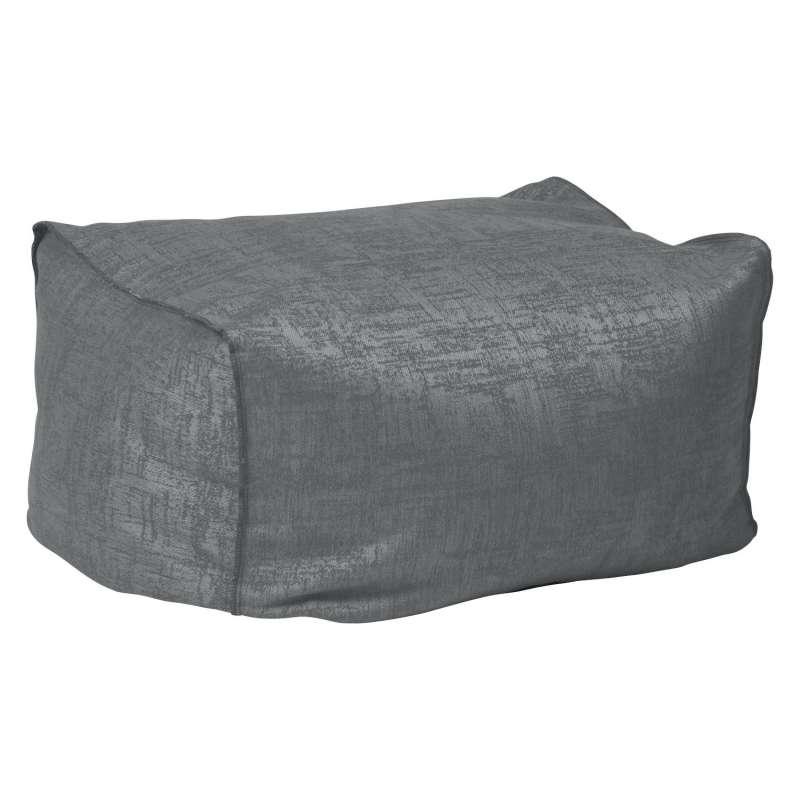 Stern Chillhocker Matti Outdoorstoff dunkelgrau/schiefergrau 50x70 cm Loungehocker Sitzsack Fußhocke