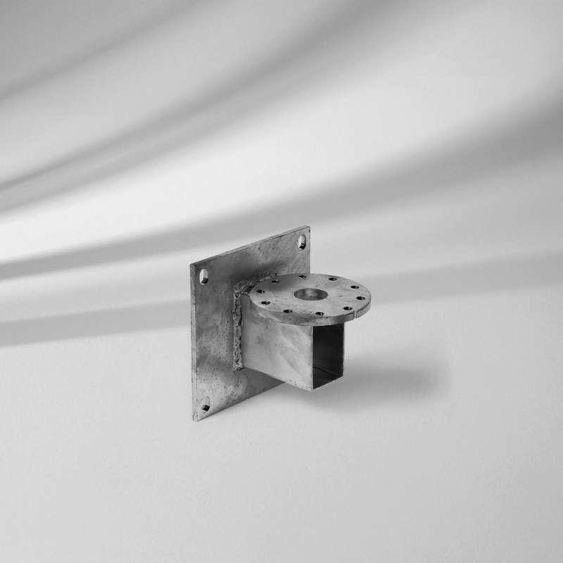 GLATZ Mauerkonsole M4 Ausladung 100 mm Stahl verzinkt Sonnenschirm Stahlkonsole