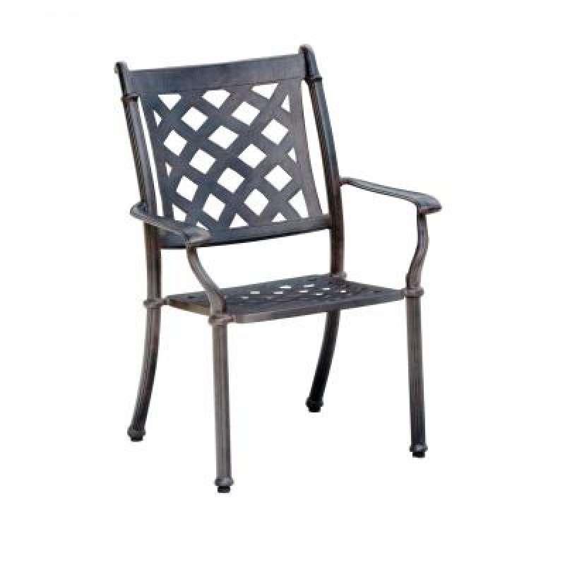 Gartenstühle stapelbar  Inko Aluguss Stapelsessel Duke Bronze Gartenstuhl stapelbar TAG 108 ...