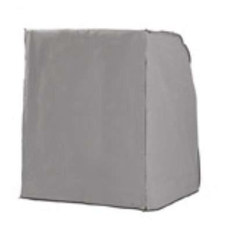 Sonnenpartner Schutzhülle für Strandkorb 2-Sitzer XL grau Strandkorbhülle mit Reißverschluss