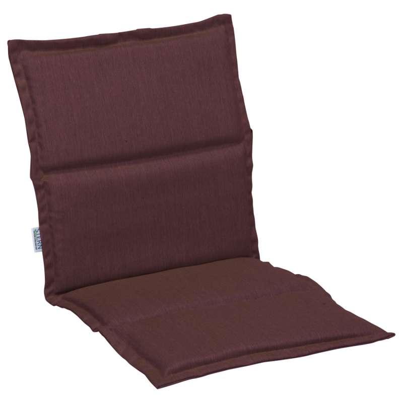 Stern Auflage für Stapelsessel Outdoorstoff rot uni 93x46 cm Universalauflage Sitzkissen