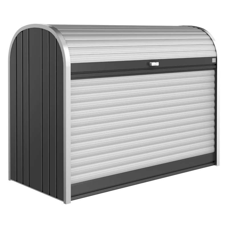 Biohort StoreMax® 160 Gartenbox Gerätebox 163x78x120 cm 3 Farben Fahrradunterstand Geräteschrank