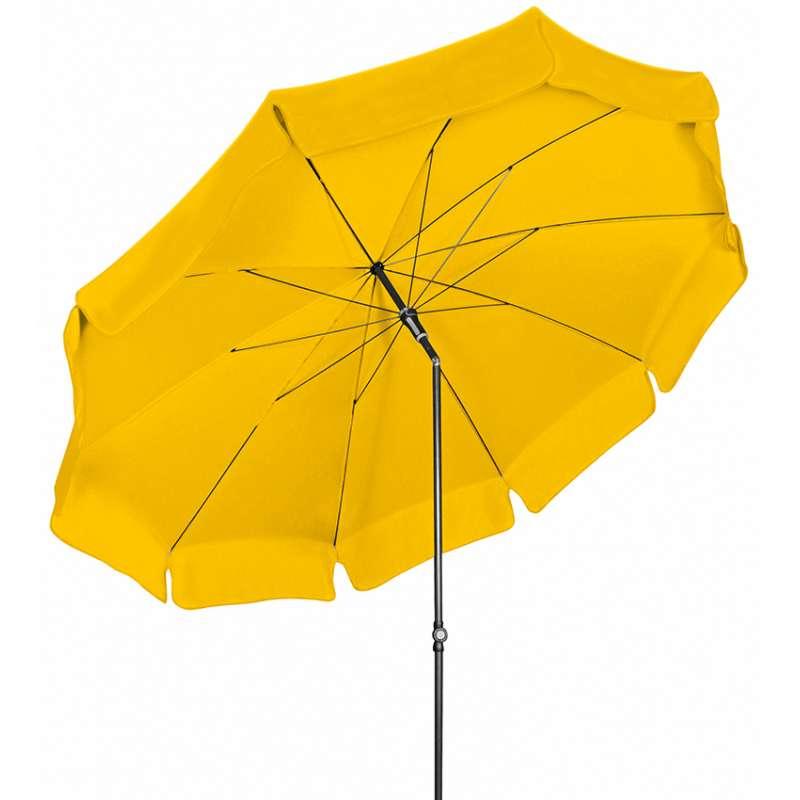 Doppler Sunline ø 250 Sonnenschirm Gelb 811 Gartenschirm Sonnenschutz