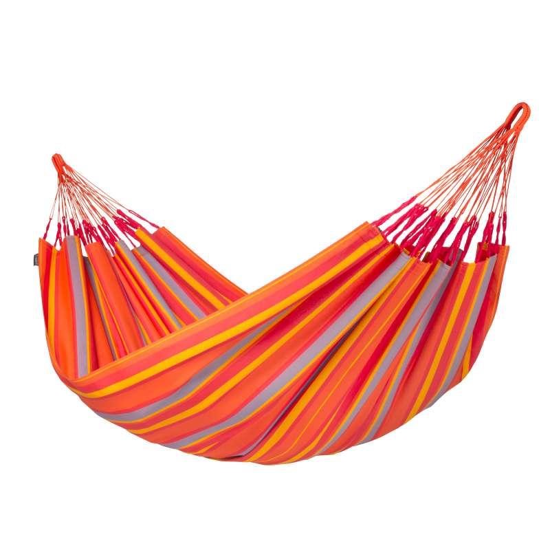 La Siesta Doppel-Hängematte BRISA toucan orange Doppelhängematte Outdoor BRH16-28 optional mit Geste