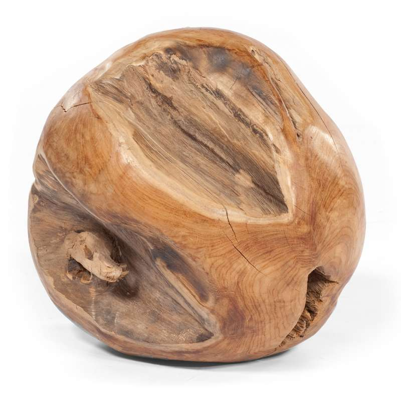 Sonnenpartner Deko Teak Ball Roots 30 cm rund 80060378
