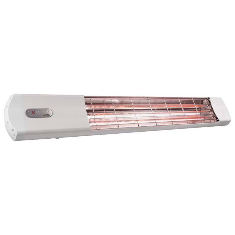 ExtremeLine HeatShine weiß Carbon Infrarotstrahler 2700 W mit BLE Steuerungssystem Heizstrahler