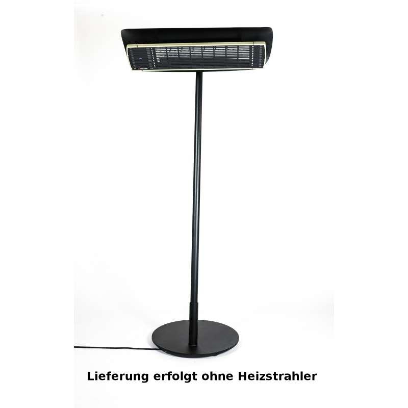 Heatscope Free Design-Ständer für Heizstrahler Farbe schwarz für Vision 2200