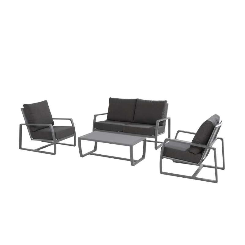 Aqua-Saar Jay Jay 4-teiliges Set Loungegruppe Komplettset Gartengarnitur Loungesofa