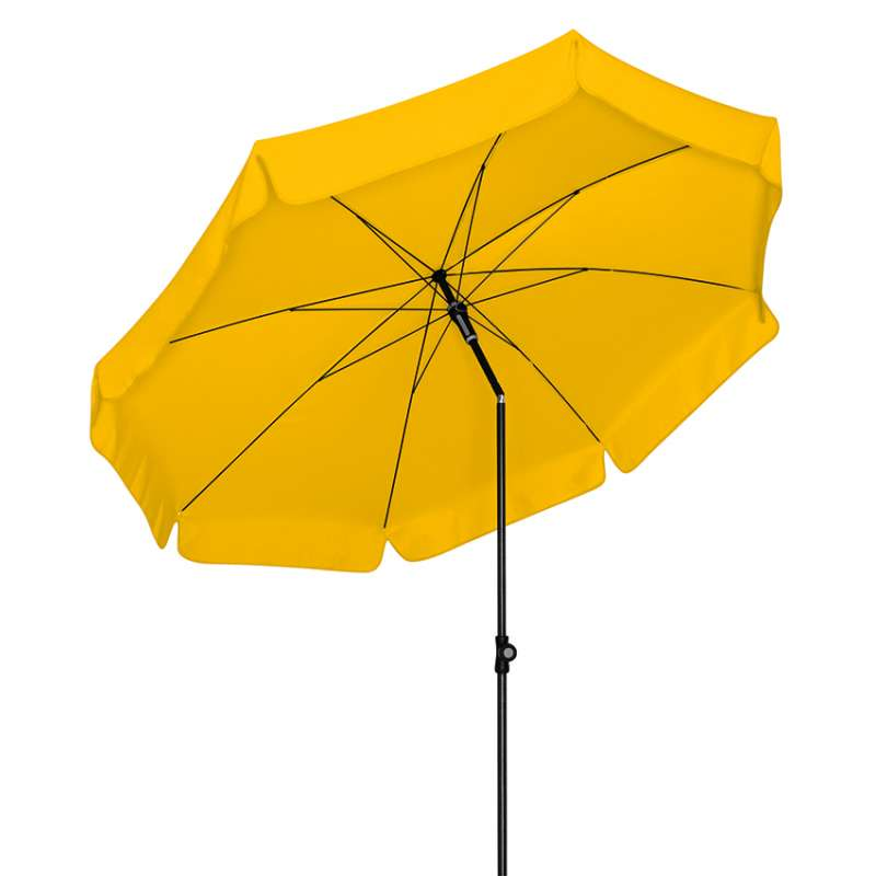 Doppler Sunline ø 200 Sonnenschirm Gelb 811 Gartenschirm Sonnenschutz