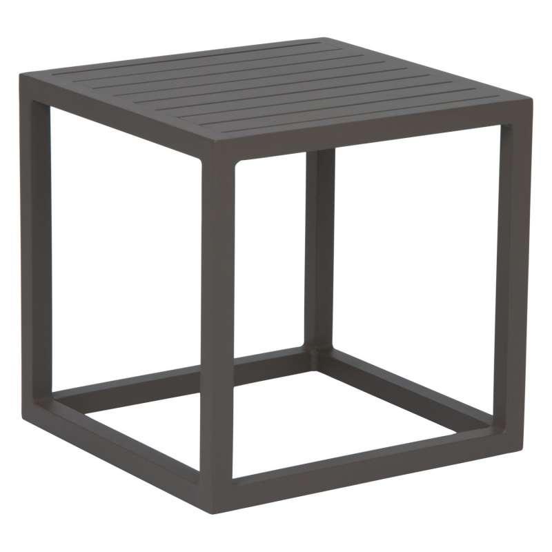 Stern Beistelltisch Robin Aluminium taupe 40x40 cm Loungetisch Tisch
