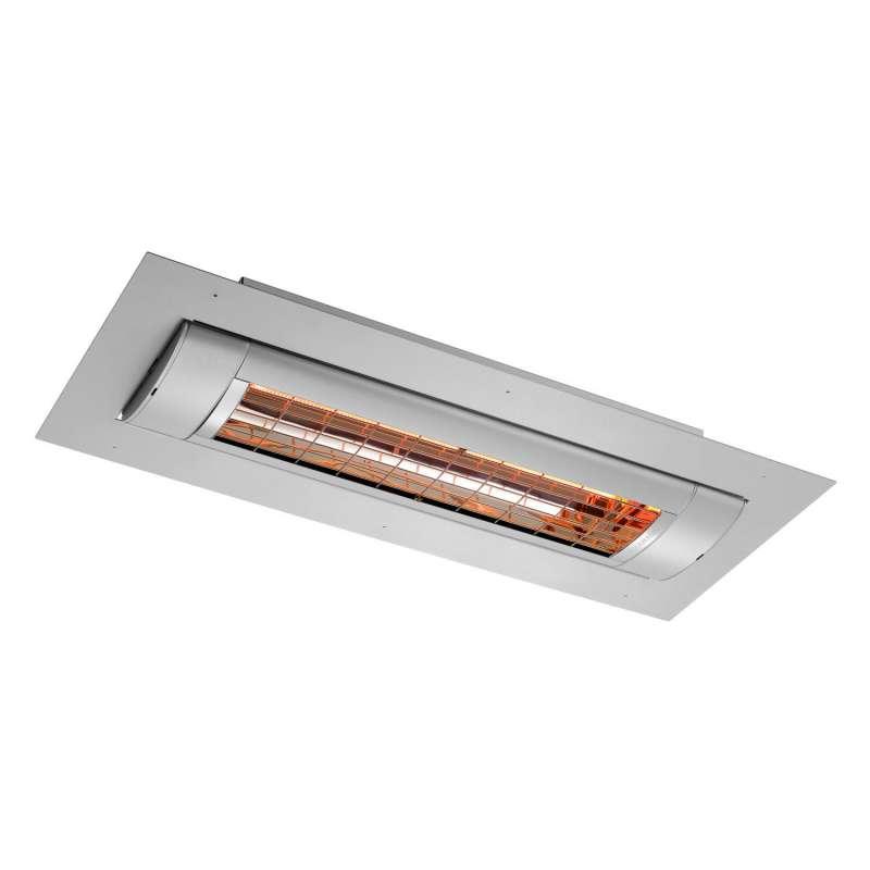 Solamagic Infrarot-Dunkelstrahler D3 2000 W Heizstrahler zum Deckeneinbau mit Blendrahmen