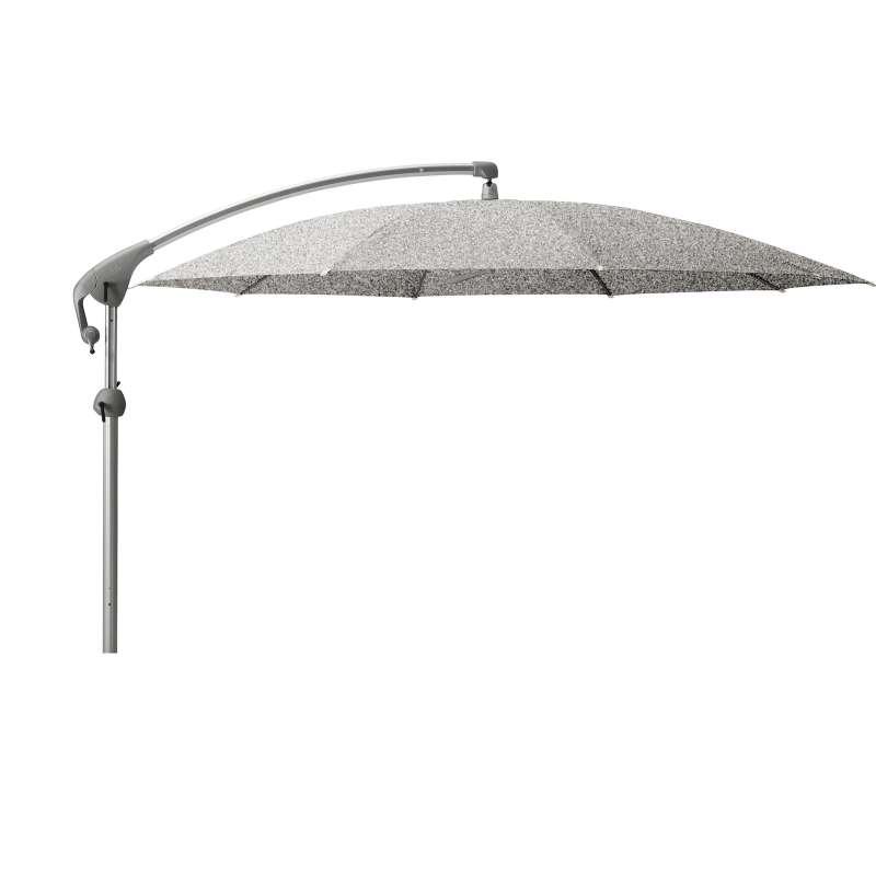 GLATZ Sonnenschirm PENDALEX® P+ rund ø 350 cm Stoffklasse 5 Silver-Mélange 652