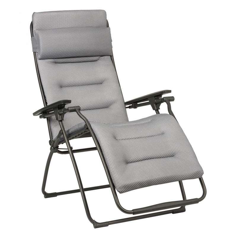 Lafuma Futura Be Comfort® Relaxliege Silver Titane Sonnenliege LFM3130.8901
