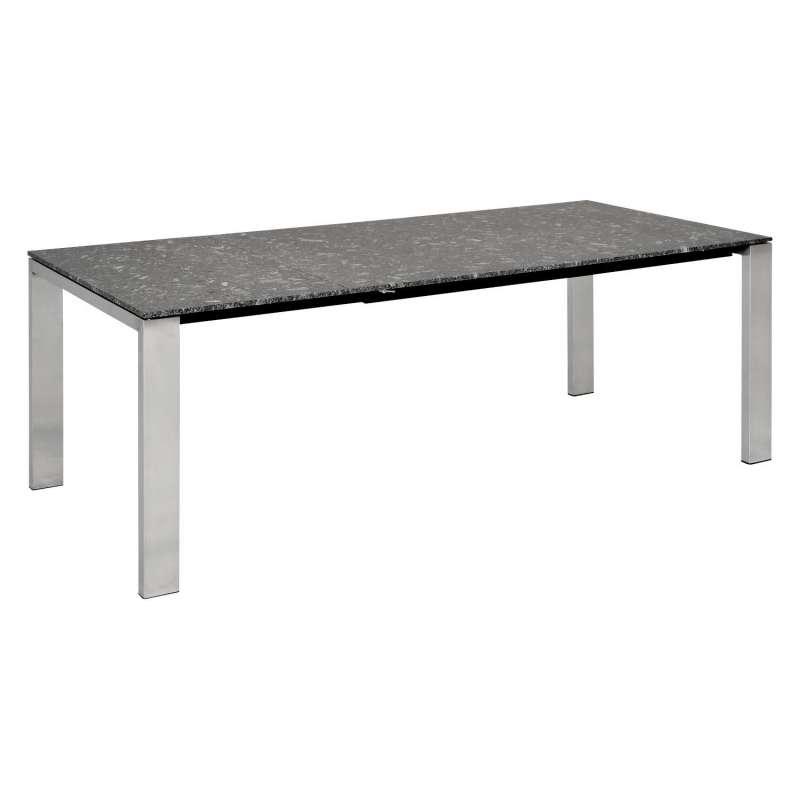 SIT Mobilia Gartentisch Olympia Oslo Edelstahl/wählbare Tischplatte 300x95 cm Tisch Terrassentisch