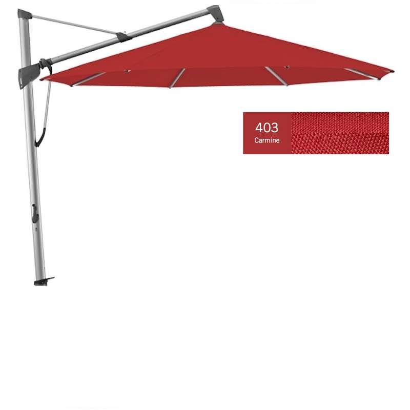 GLATZ Sonnenschirm SOMBRANO® S+ rund ø 350 cm Stoffklasse 4 Carmine 403