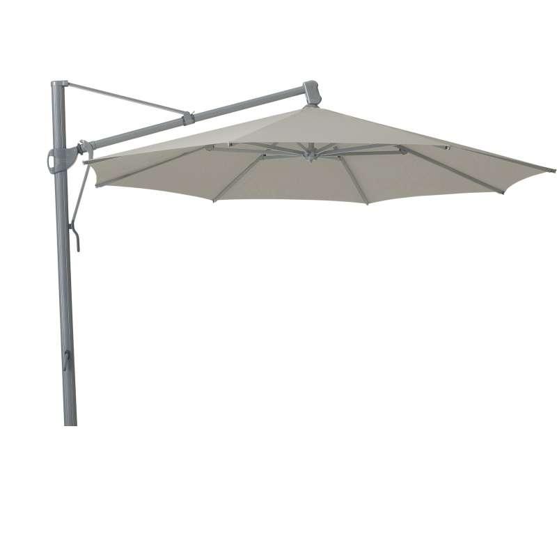 GLATZ Sonnenschirm SOMBRANO® easy rund ø 400 cm Stoffklasse 2 Ash 151
