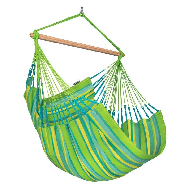 La Siesta Hängestuhl DOMINGO Comfort lime grün Lounger DOL18-48
