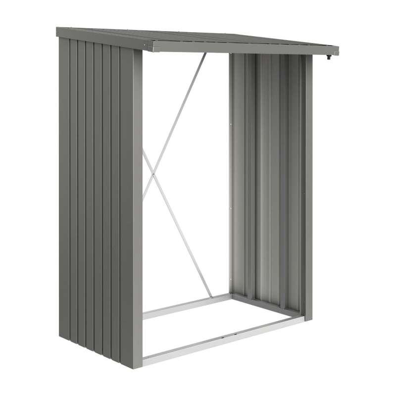 Biohort Kaminholzlager WoodStock® 150 Brennholzlager 157x102x199 cm in 3 Farben erhältlich
