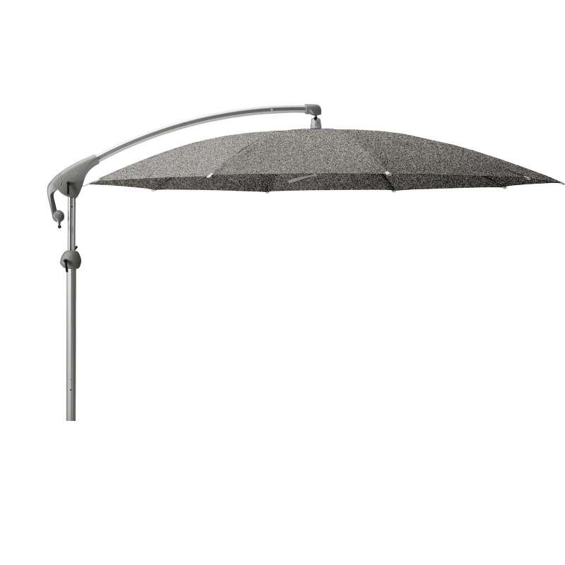 GLATZ Sonnenschirm PENDALEX® P+ rund ø 325 cm Stoffklasse 5 Platinum 667