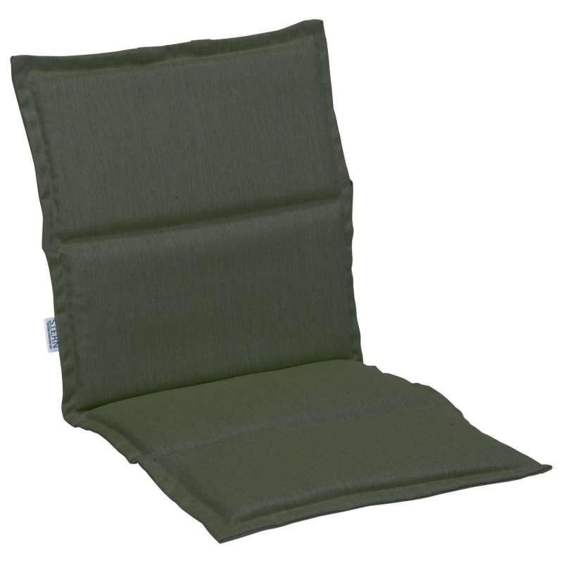 Stern Auflage für Stapelsessel Outdoorstoff dunkelgrün uni 93x46 cm Universalauflage Sitzkissen